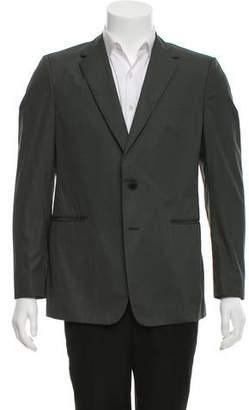 Valentino Woven Two-Button Blazer