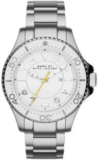 Marc by Marc Jacobs Dizz Sport Stainless Steel Bracelet Watch $250 thestylecure.com