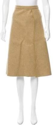 Derek Lam A-Line Midi Skirt