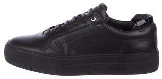 WANT Les Essentiels Leather Round-Toe Sneakers