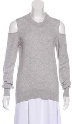 Veronica Beard Cold-Shoulder Cashmere Sweater