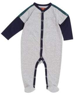 7 For All Mankind Baby Boy's Twofer Footie