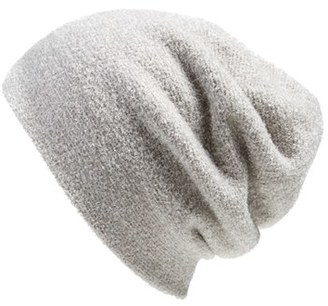 Barefoot Dreams ® Knit Slouch Beanie $40 thestylecure.com