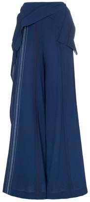 Roland Mouret Argott wide-leg silk-blend trousers