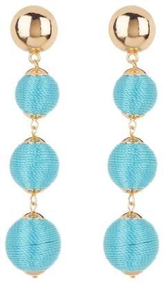 Ettika Multi Wrapped Ball Earrings