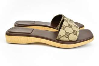 Gucci Cloth sandal
