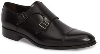 To Boot Bankston Cap Toe Double Strap Monk Shoe
