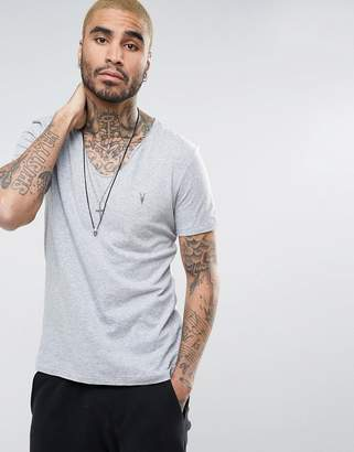 AllSaints t-shirt with scoop neck and logo