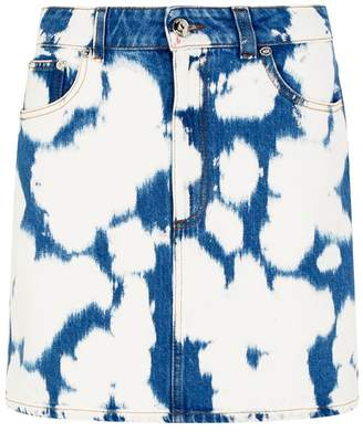 Burberry Bleach Denim Skirt