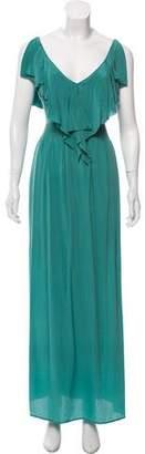 Rebecca Taylor Ruffled Maxi Dress