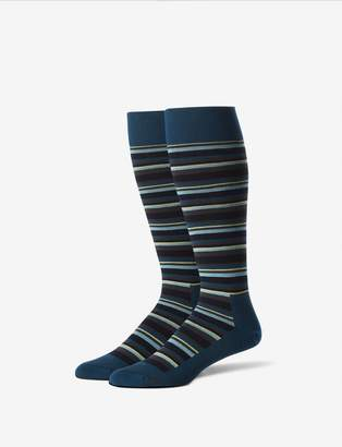 Tommy John Tommyjohn Stripe Stay-Up Dress Sock