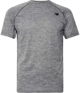 New Balance Tenacity Mélange Jersey T-Shirt