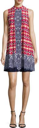 Tiana B Sleeveless Trapeze Dress-Petite