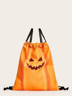 Shein Halloween Pumpkin Design Backpack