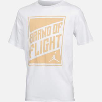 Nike Boys' Jordan Brand of Flight Harvest Gold T-Shirt