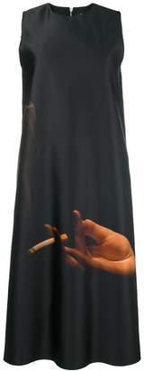 Yang Li printed flared dress