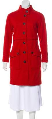Steven Alan Knee-Length Wool-Blend Coat