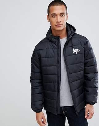 Hype logo puffer jacket