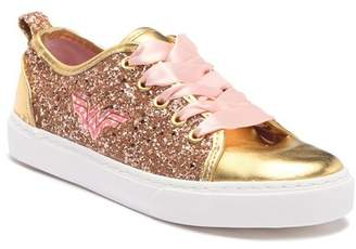 Jo-Jo JOJO SIWA Wonder Woman Sequin & Gold Sneaker (Little Kid & Big Kid)