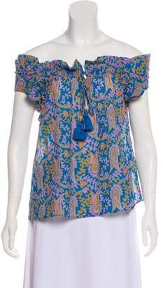 Figue Short Sleeve Printed Top