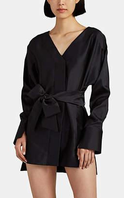 MANNING CARTELL Women's Pumped Up Taffeta Minidress - Black