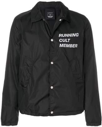 Satisfy printed shirt jacket