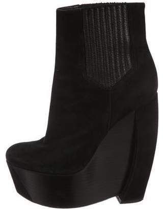 Rachel Zoe Platform Wedge Ankle Boots