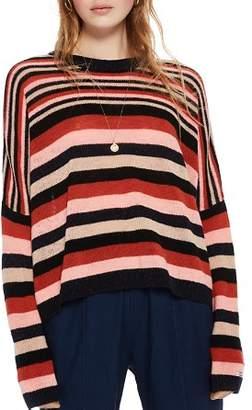 Scotch & Soda Striped Slouchy Sweater