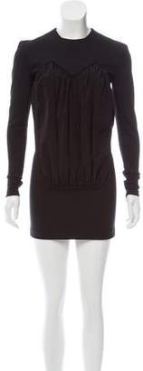 Acne Studios Ruched Mini Dress