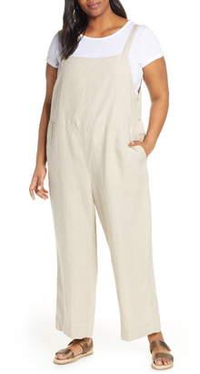 1041d7e291 Eileen Fisher Organic Linen Overalls