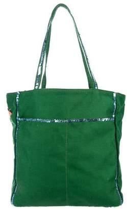 MZ Wallace Sequin-Embellished Canvas Tote