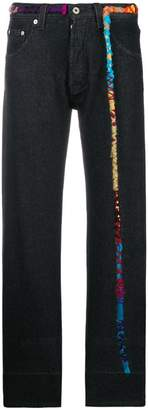 Loewe embroidered knot jeans