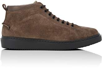 Barneys New York Men's Wedge-Sole Suede Boots