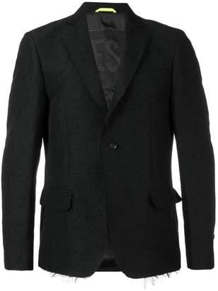 Diesel distressed blazer jacket