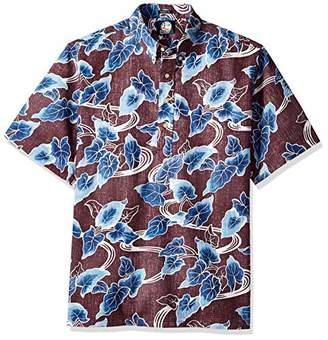 Reyn Spooner Men's Food & Wine Spooner Kloth Classic Pullover Shirt