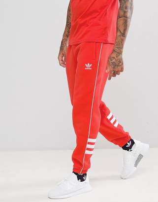 adidas Authentic Sweatpants In Red DH3859