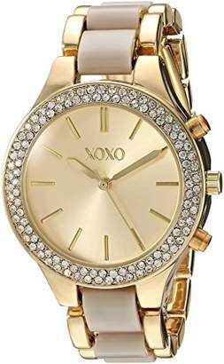 XOXO Women's Quartz Metal and Alloy Casual Watch