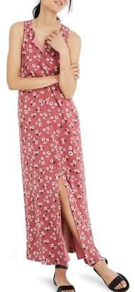 Madewell Daisy Tie Waist Maxi Dress