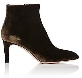 Gianvito Rossi Women's Velvet Ankle Boots - Marais