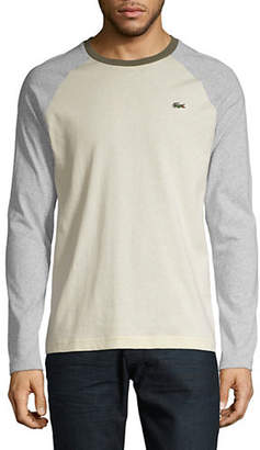Lacoste Classic Long-Sleeve Cotton Tee