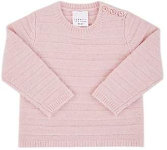 Barneys New York Infants' Striped Cashmere Sweater - Pink