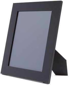 Smythson Grosvenor Leather Photo Frame - Mens - Black
