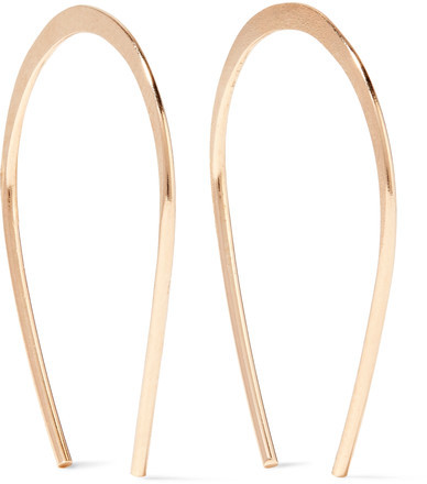Melissa Joy Manning - 14-karat Gold Earrings
