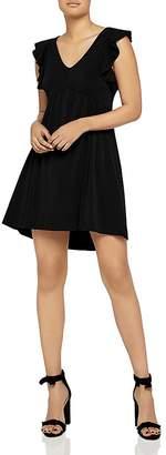 BCBGeneration Ruffle-Trim A-Line Dress