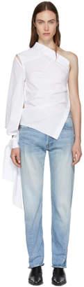 Ann Demeulemeester SSENSE Exclusive White Byron Shirt