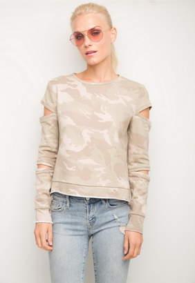 Generation Love Rosalie Camo Sweatshirt