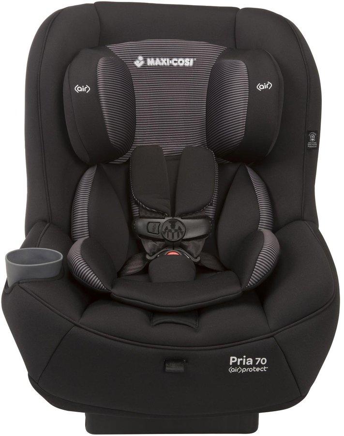 Maxi-Cosi Pria 70 Convertible Car Seat - Total Black