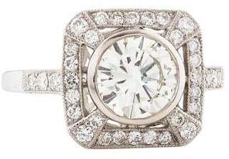 d Collection Sophia Platinum 1.68ctw Diamond Ring