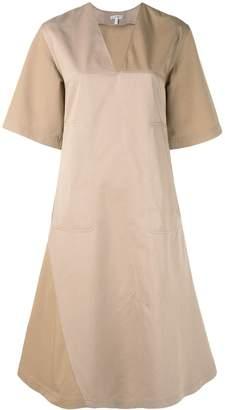 Loewe panelled A-line dress