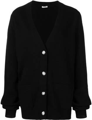 Miu Miu V-neck button cardigan
